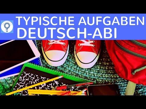 typische aufgabenarten in deutsch oberstufe abitur was im deutsch abi dran kommen kann youtube. Black Bedroom Furniture Sets. Home Design Ideas
