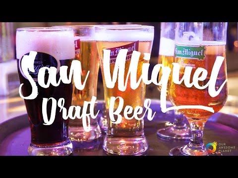 Enjoy San Miguel Super Dry & Premium All Malt Draft Beers straight from the Keg!