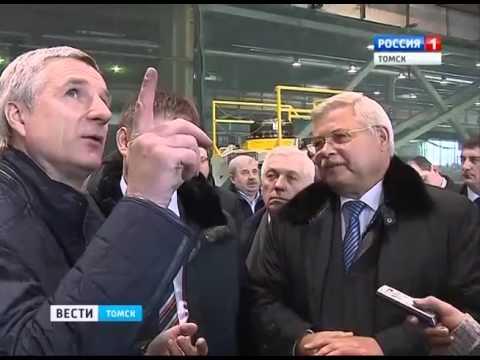 Замминистру экономического развития России представили новейшие разработки ТЭМЗа