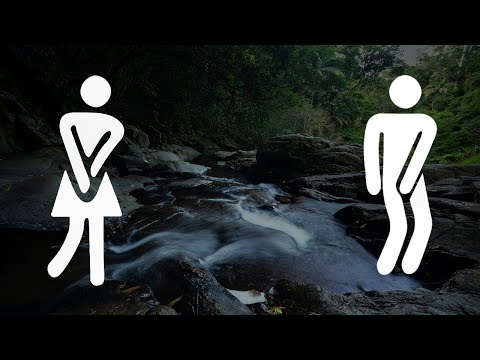 Separate the Seem of Flowing Water In the Urge to Urinate
