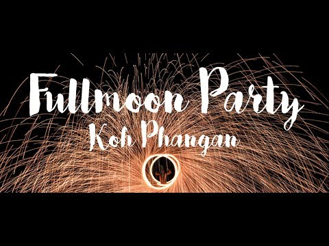 All You Need to See on Fullmoon Party on Koh Phangan in Thailand