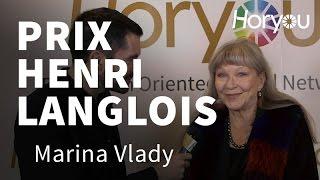 Marina Vlady @ Prix Henri Langlois 2015