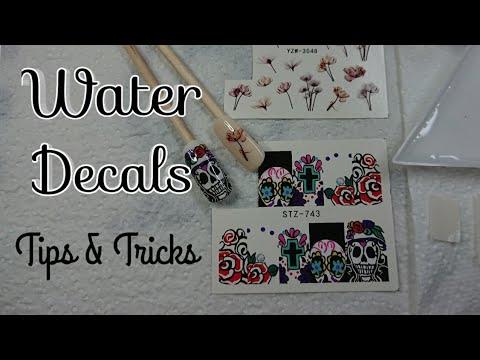 Water Decal Nail Art Tutorial