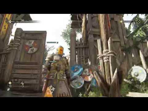 For Honor - 13 The Blackstone Legion: External Blocking Tutorial Kill The Commander Lava Death