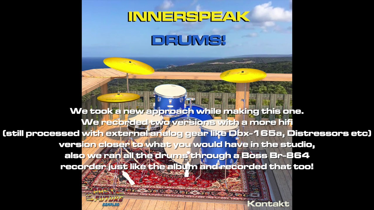 Download Past To Future Samples Releases Innerspeak Drums!