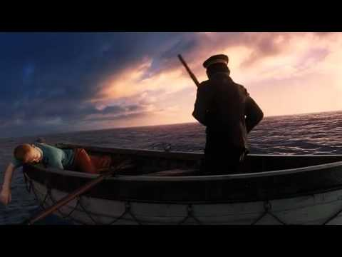 Tintin Clip - Captain Haddock Conquers The Sea