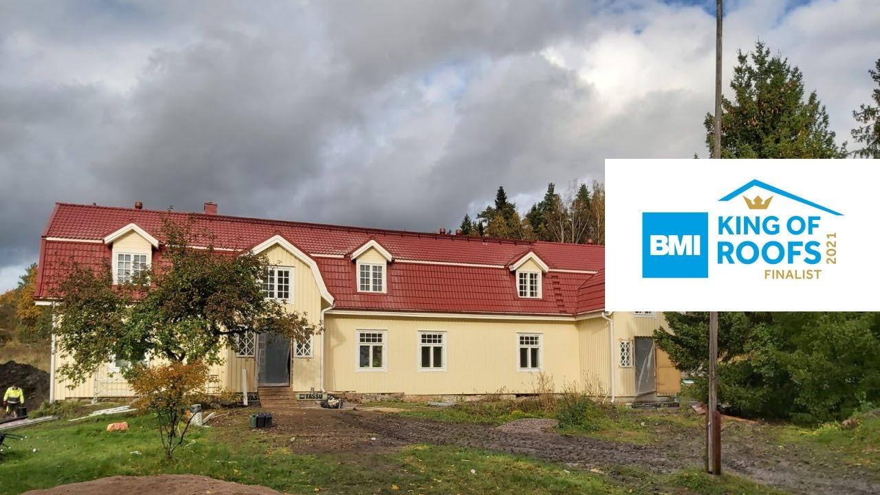 Kusasin tila, Östersundom, Eliittikatot Oy   King of Roofs 2021 -finalisti