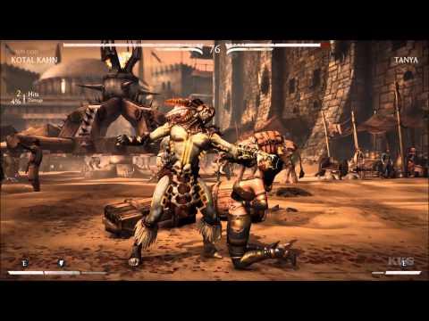 Mortal Kombat X - Kotal Kahn Vs Tanya (Story Battle 6) (HD) [1080p]