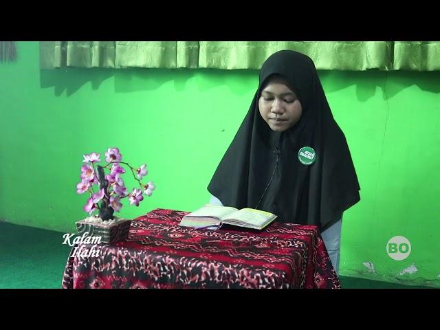 Karina Nur Hafizah (Siswi MTsN 4 Tabalong) - Al-Bayyinah 1-8