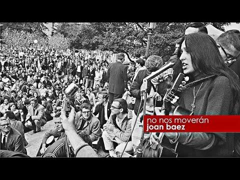 Joan Baez - No nos moverán (HD)