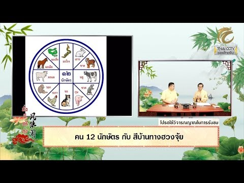 EP.238 - คน 12 นักษัตร กับ สีบ้านทางฮวงจุ้ย โดย อ.โกวิท รอดเรือง