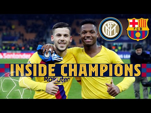 INSIDE CHAMPIONS | Inter 1-2 Barça - Young Guns Claim Historic Victory In Milan