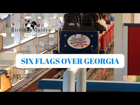 Six Flags Over Georgia - Vlog 19