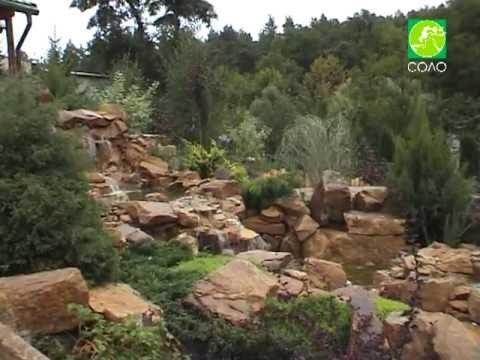 видео: ландшафтный дизайн (СОЛО) водопады и ручьи