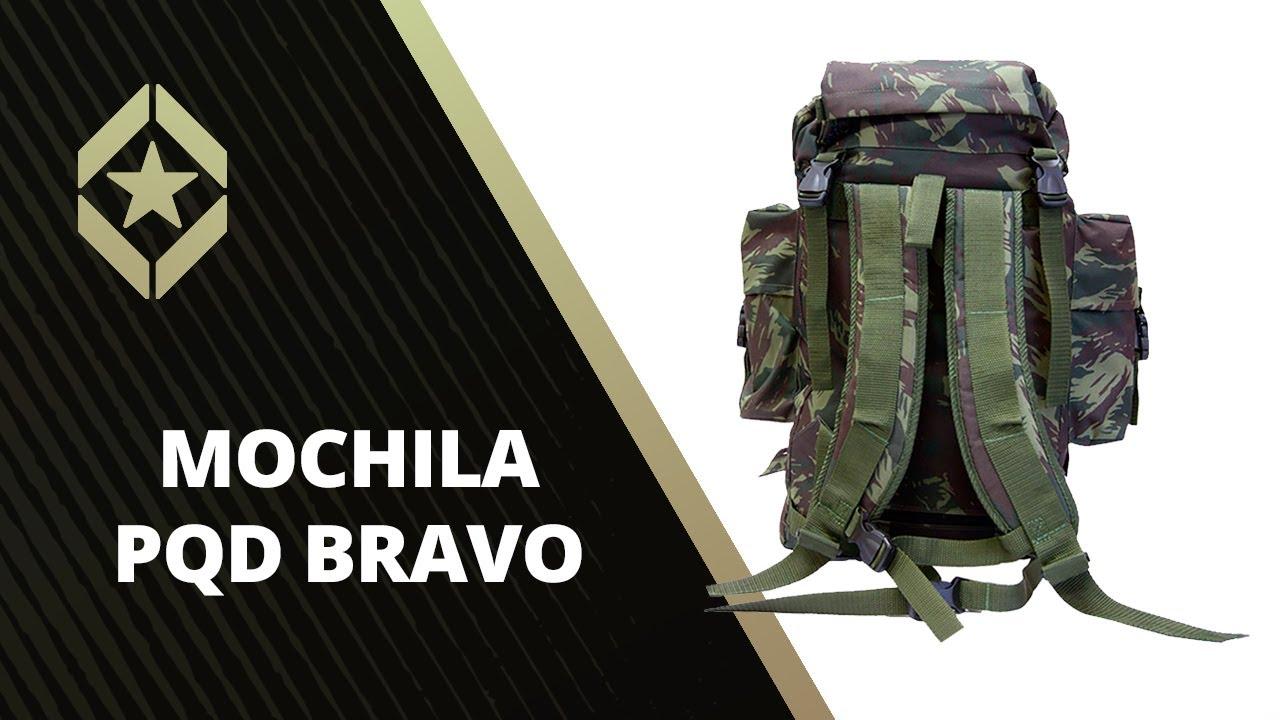 MOCHILA PARAQUEDISTA (PQD). Tática Militar 084c449ea3f30