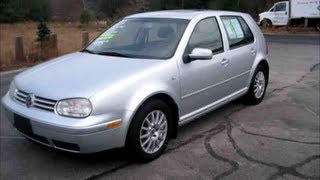 2004 Volkswagen Golf Start Up, Engine & Full Review
