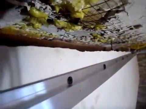 видео: Установка и монтаж натяжных потолков. Урок №3.