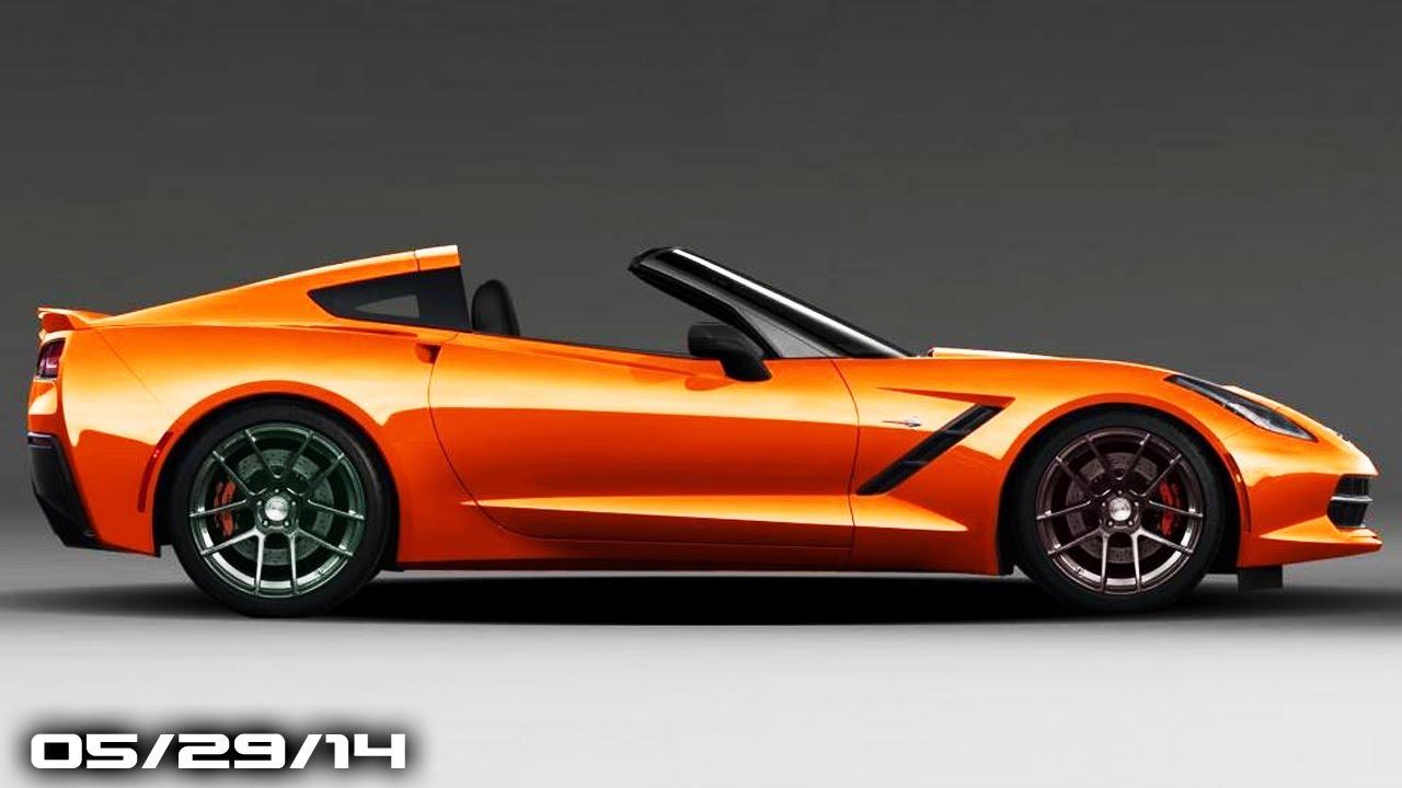 New Corvette Stingray Options, McLaren P1 Successor, New ...