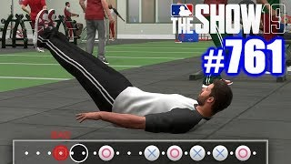 I'M HORRIBLE AT WORKING OUT! | MLB The Show 19 | Road to the Show #761