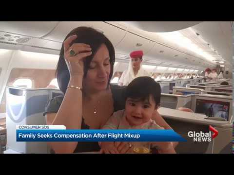 Toronto Family Out $8,000 After Infant Daughters Air Canada Booking Goes Wrong (Gloabl News)