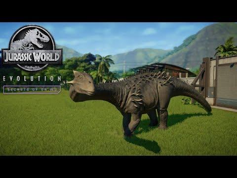 Ankylodocus!!!! Jurassic World Evolution- Secrets Of Dr Wu (Ep5) |