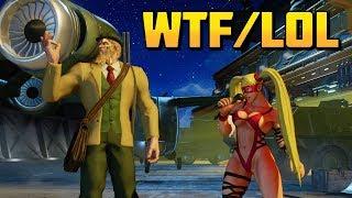 SFV ▰ WTF/Lol Moments Volume 11 【Street Fighter V】