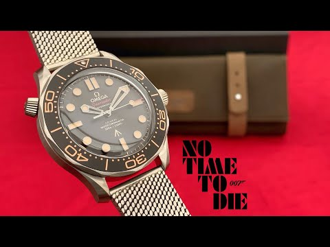 Omega Seamaster NO TIME TO DIE Special Edition James Bond 007 Watch Unboxing & First Impressions