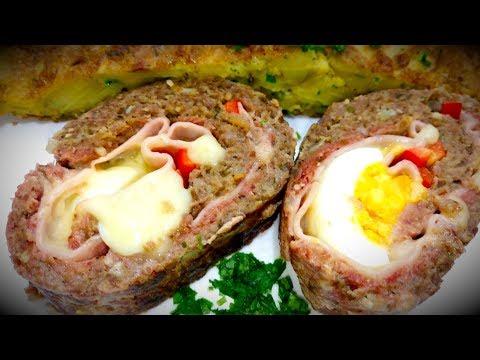 🥩Rollo de carne molida super facil y rapido (sin papel aluminio)🥩