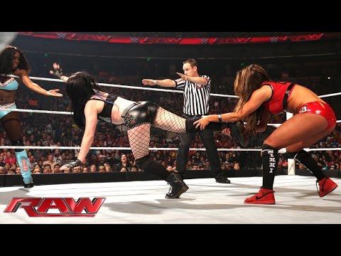Paige & Naomi vs. The Bella Twins: Raw, April 6, 2015
