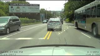 Stupid Drivers and Near Misses (Near Hits?) 2012 Retrospective Part 1 - January, 2013