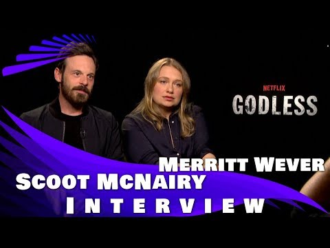 GODLESS - Interview with Scoot McNairy and Merritt Wever