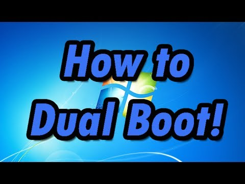 How to install dual (multiple) Operating Systems in one hard drive