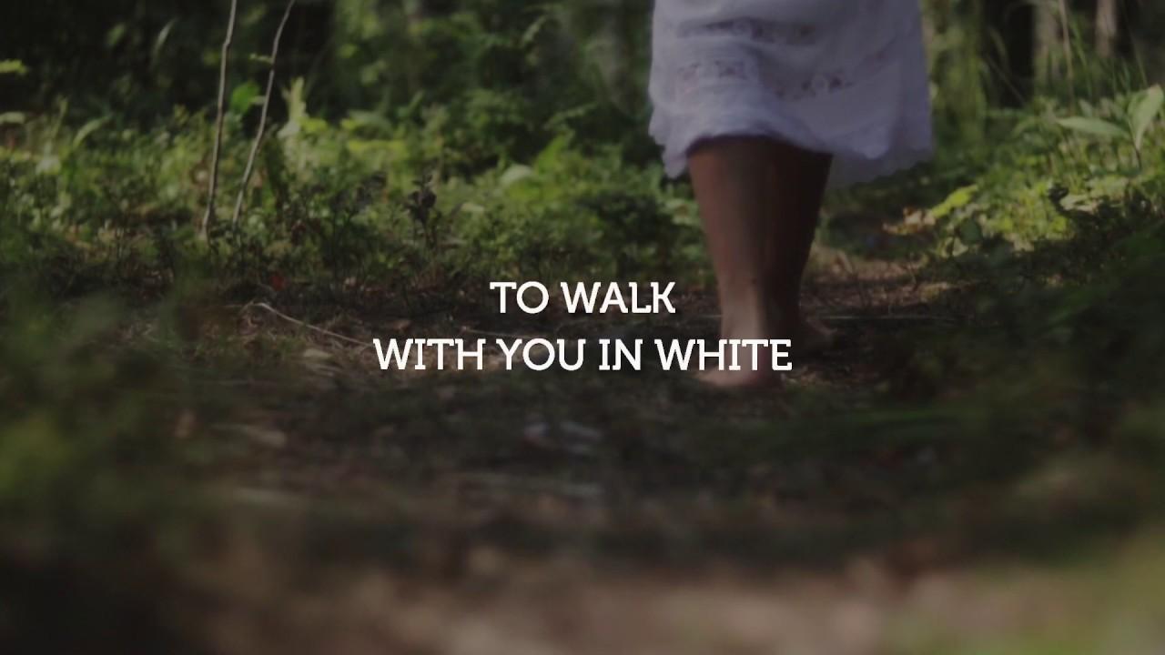Kay Morgan Israel worship song Walk In White
