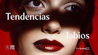 Glitter, bicolor y más labiales en tendencia por MAC Cosmetics