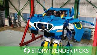 Engineers Build Amazing Lifesize Transformer Robot