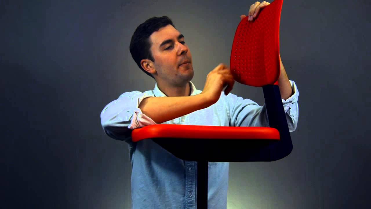 Robert Mitchell Reviews IKEA Alrik Chair Assembled YouTube