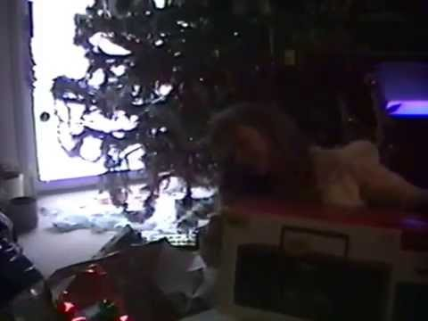 christmas 1996 kelly cody katy rob opening gifts