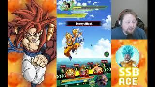 Dragon Ball Z Dokkan BattlePOTORA TEAM VS MVP ANDROID #17