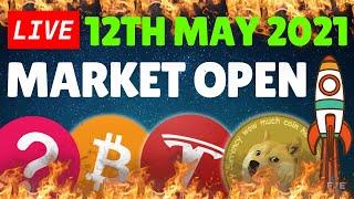 🔴LIVE - Day Trading, Tнe Stock Market Is Crashing??? Nasdaq, QQQ, SP500, Bitcoin, TSLA,