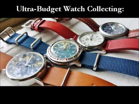 Ultra-Budget Watch Collecting: The Four Piece Collection