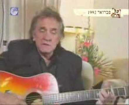 Johnny Cash - City of New Orleans (Live Israel 1992)