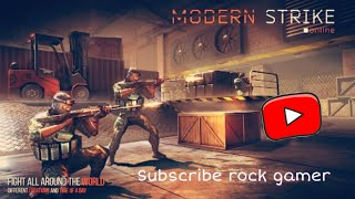 How to play modern strike online ops fps game and game play of game