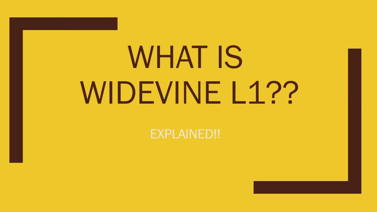 What is Widevine L1 Certification?? HD ,FULL HD AND 4K Video Streaming On  Netflix,Amazon Prime etc??