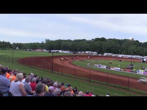 Bloomington Speedway   5.26.17   Non Wing Sprints   Josh Burton Memorial   Heat 2