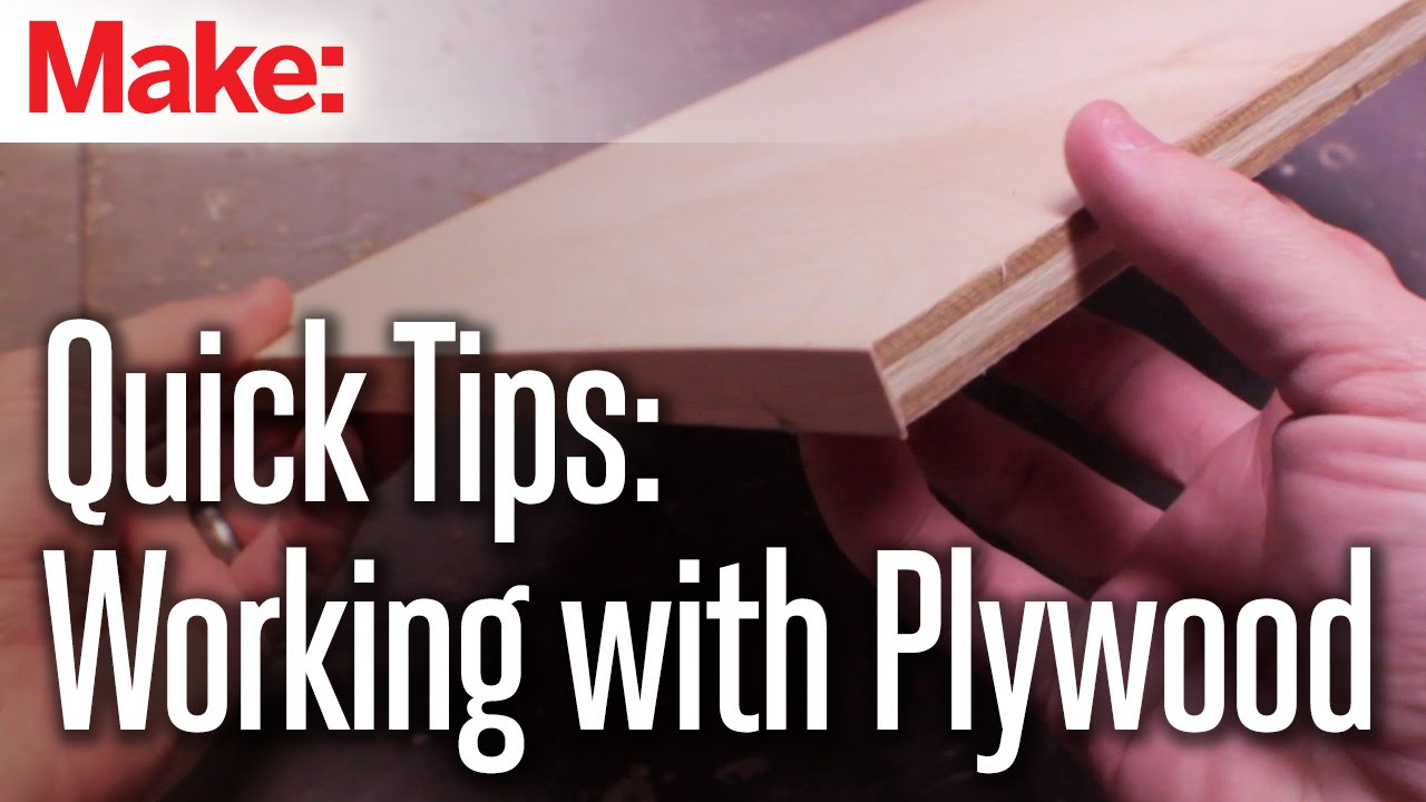 Make Plywood Look Like Solid Wood with Some Edge Banding