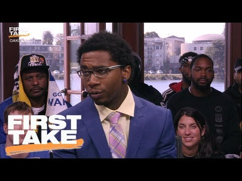 Rapper Lil B Lifts Curse From James Harden And Talks NBA Finals | First Take | June 4, 2017