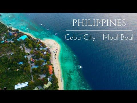 How to travel Around Cebu  - White Beach, Best Beach In Moalboal,  | Vlog 41