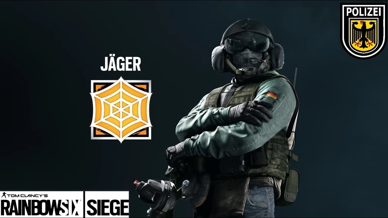 Rainbow Six Siege Jager Wallpaper: Rainbow Six Siege Insane Jager Clutch And Ace
