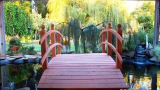 Wooden Bridges Just For You ! Www.redwoodgardenbridges.com
