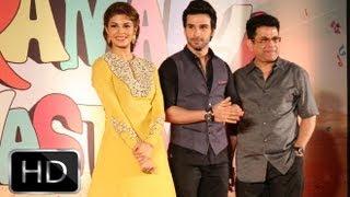 Jacqueline Fernandez, Girish Kumar And Kumar S. Taurani At 'Jadoo Ki Jhappi' Song Launch